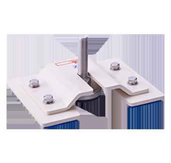 機械設備耐震製品 POMシリーズ アジャストフット差込型耐震金具(高・中・小重量設備向け)
