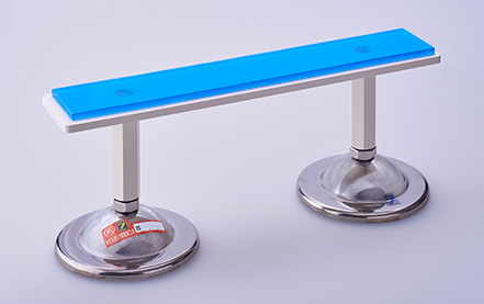 設備アジャスト式耐震金具 使用例
